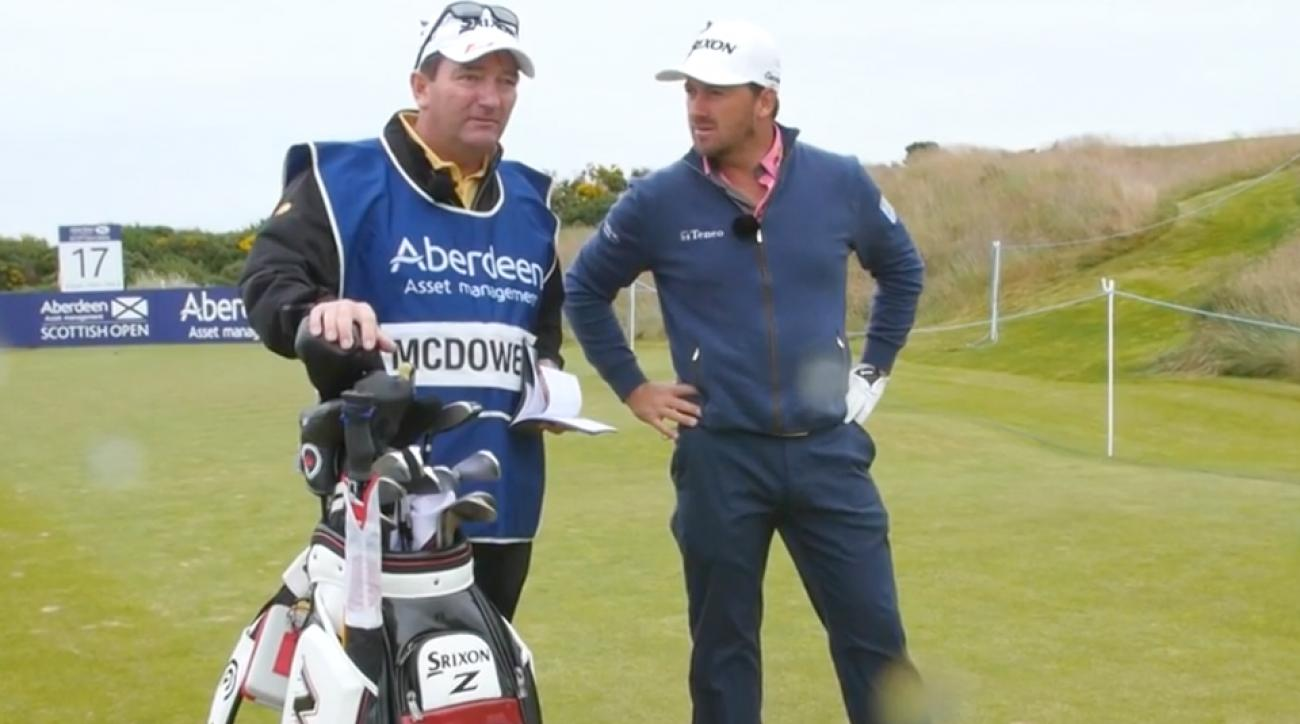 The 200-yard putt tested Graeme McDowell and other tour pros at the Scottish Open.