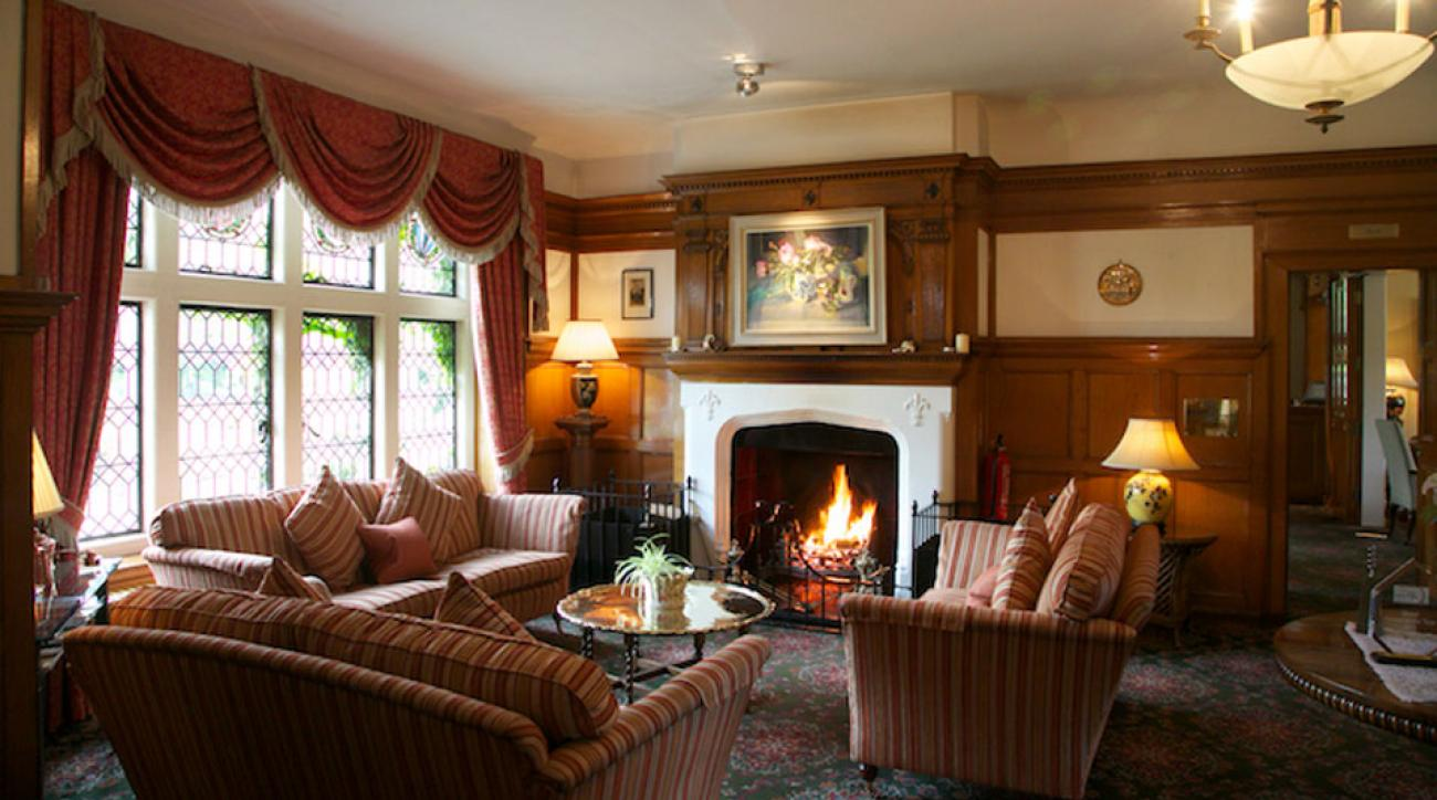 The Lochgreen House Hotel is Troon's top lodging option.