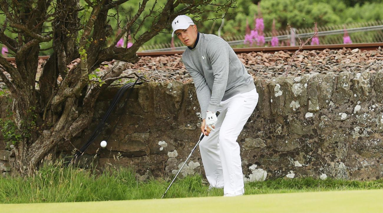 Jordan Spieth had a chance to win all four majors in 2015 and in 2016 has struggled just to break par at them.