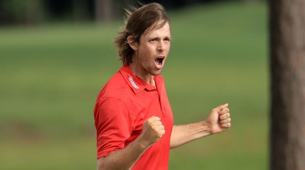 Aaron Baddeley captured his last PGA Tour win at the 2011 Northern Trust Open.