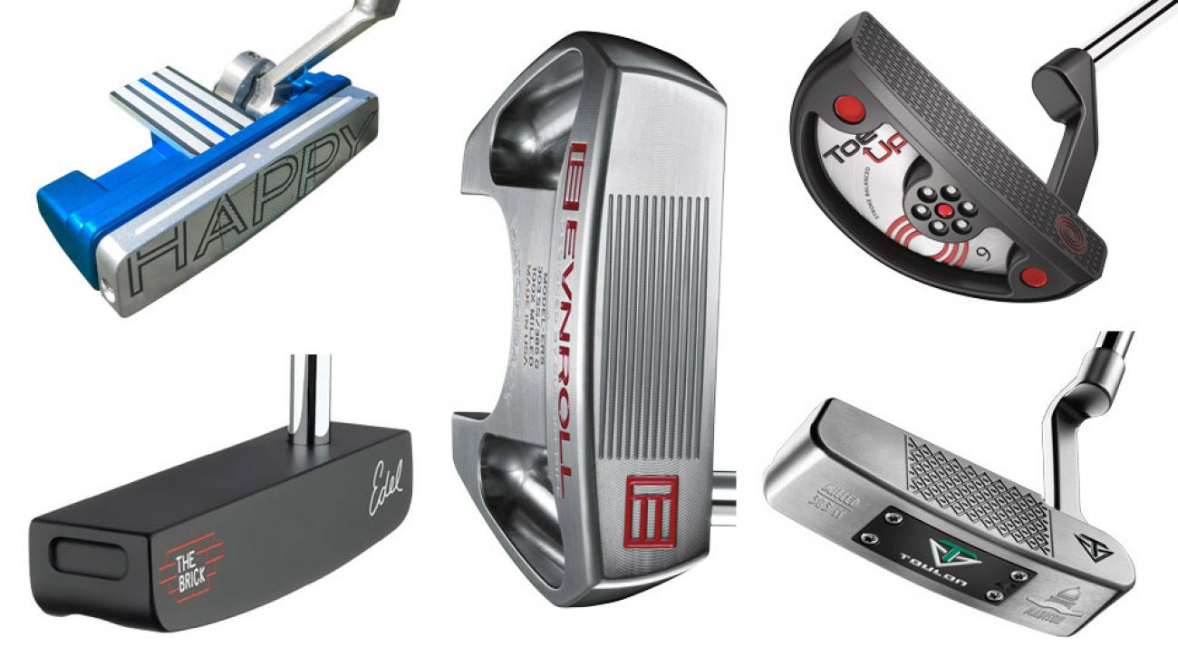 Five new high-tech putters.