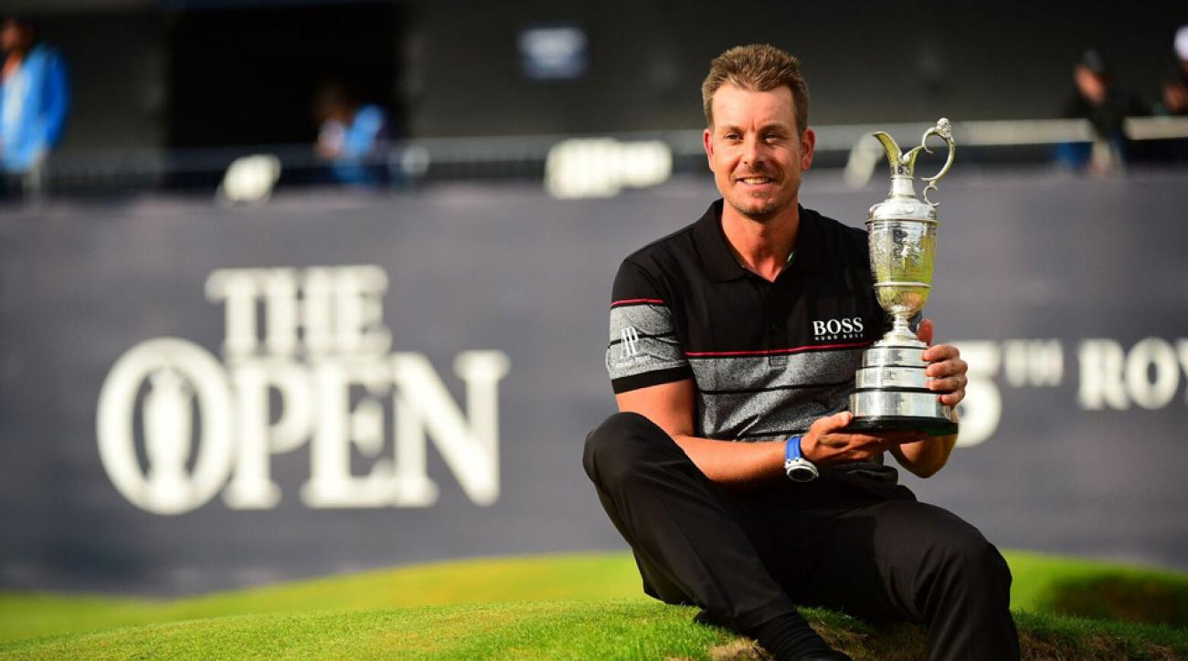 Henrik Stenson won the 2016 British Open at Royal Troon with a score of 20-under par.