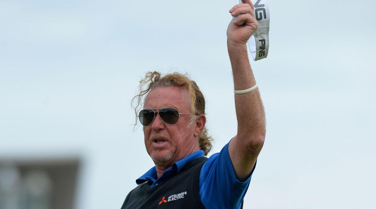 Miguel Angel Jimenez has collected three senior tour titles since 2014.