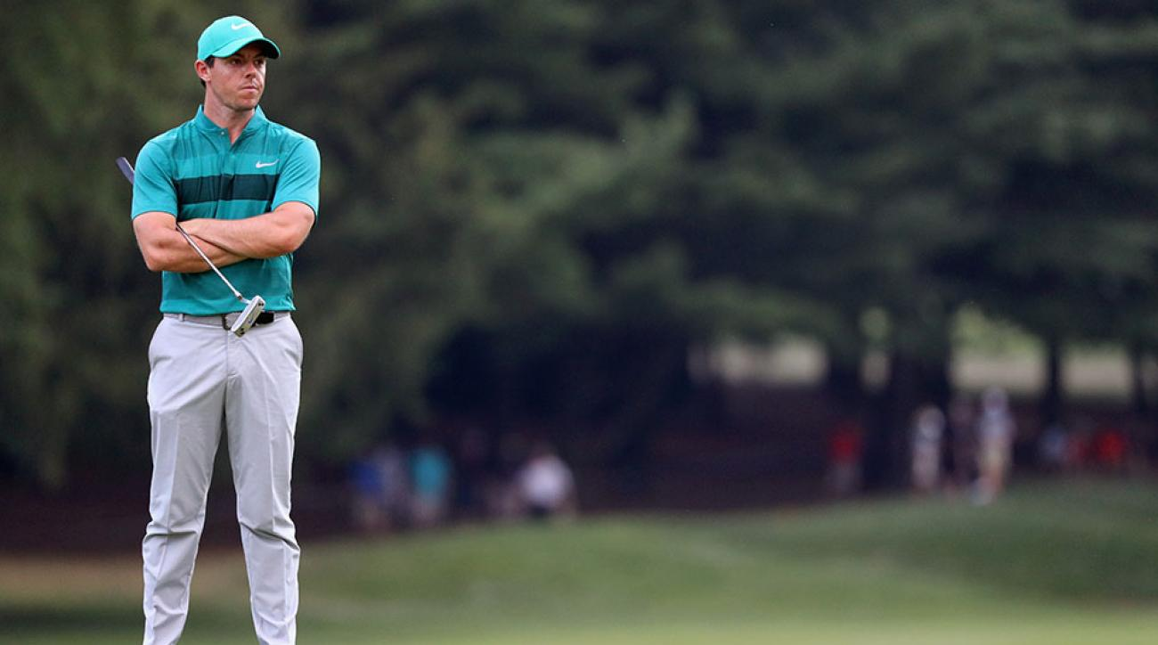 Rory McIlroy missed two cuts in major championships for the first time since 2016.