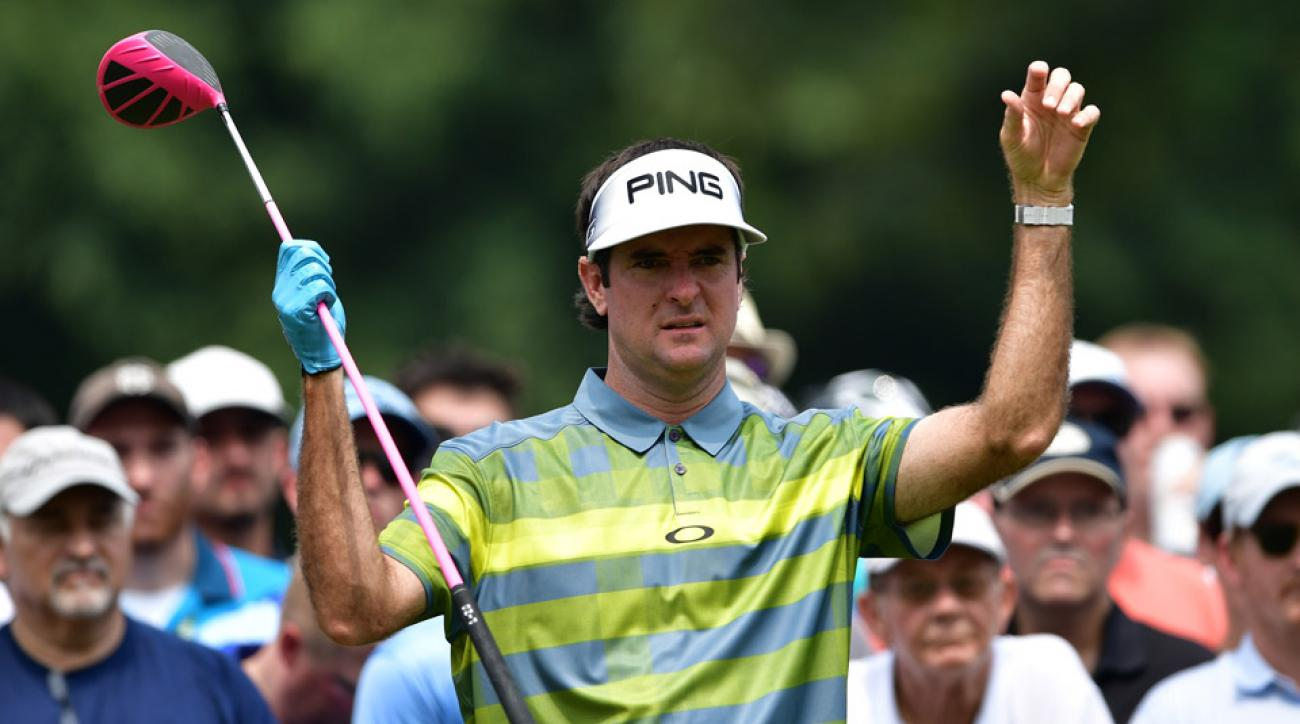 Bubba Watson during the third round of the 2016 PGA Championship.