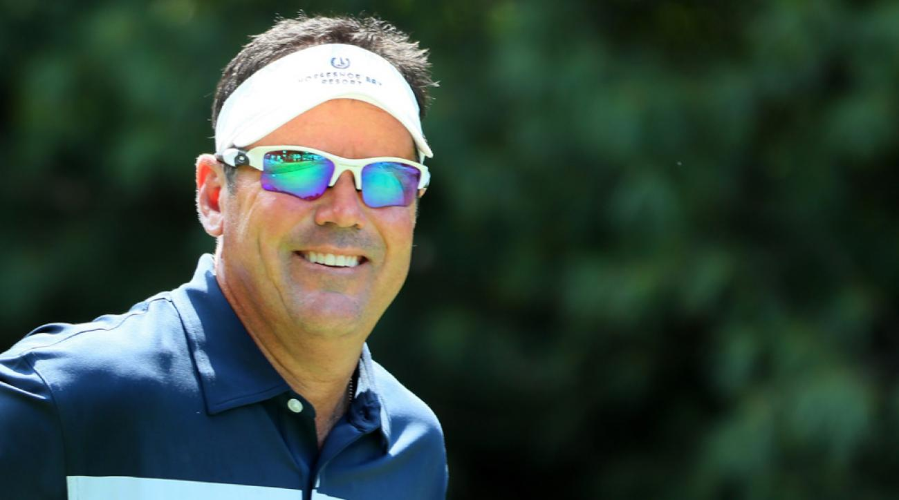 Was there anyone at Baltusrol who had more fun than Rich Beem, a part-time golfer, announcer and everyman? Probably not.