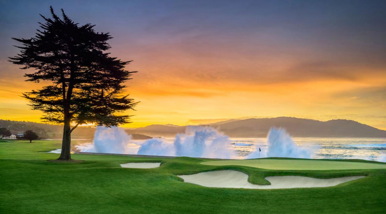 Pebble Beach deserves a look as a PGA venue.