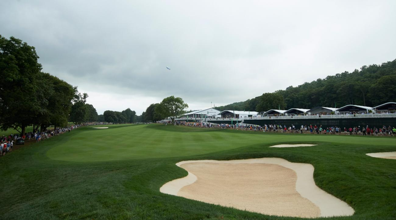 The 17th hole at Baltusrol has been an absolute bear, even for the long-hitting pros of the PGA Tour.