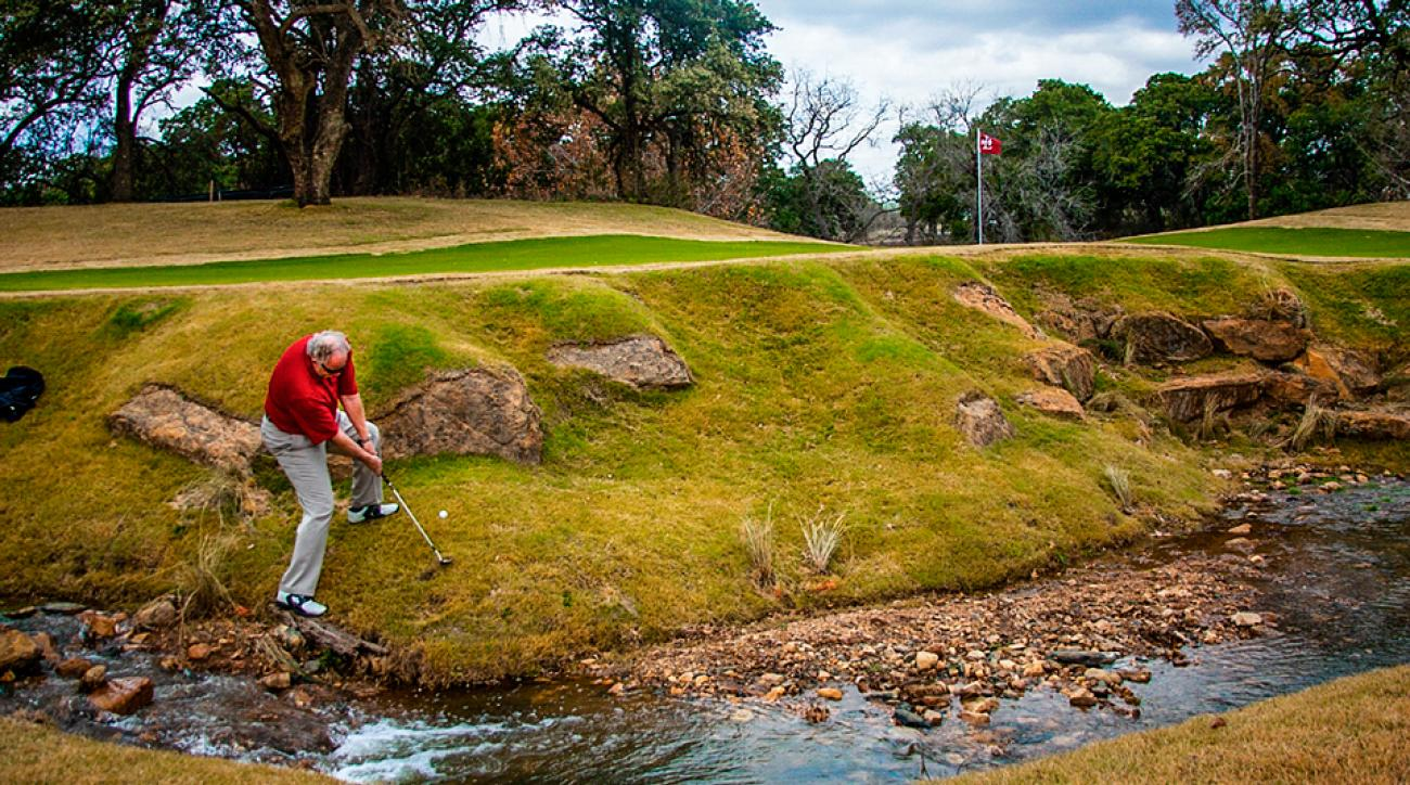 90% of players come up short on sloping lies. Don't let yourself add to that statistic.