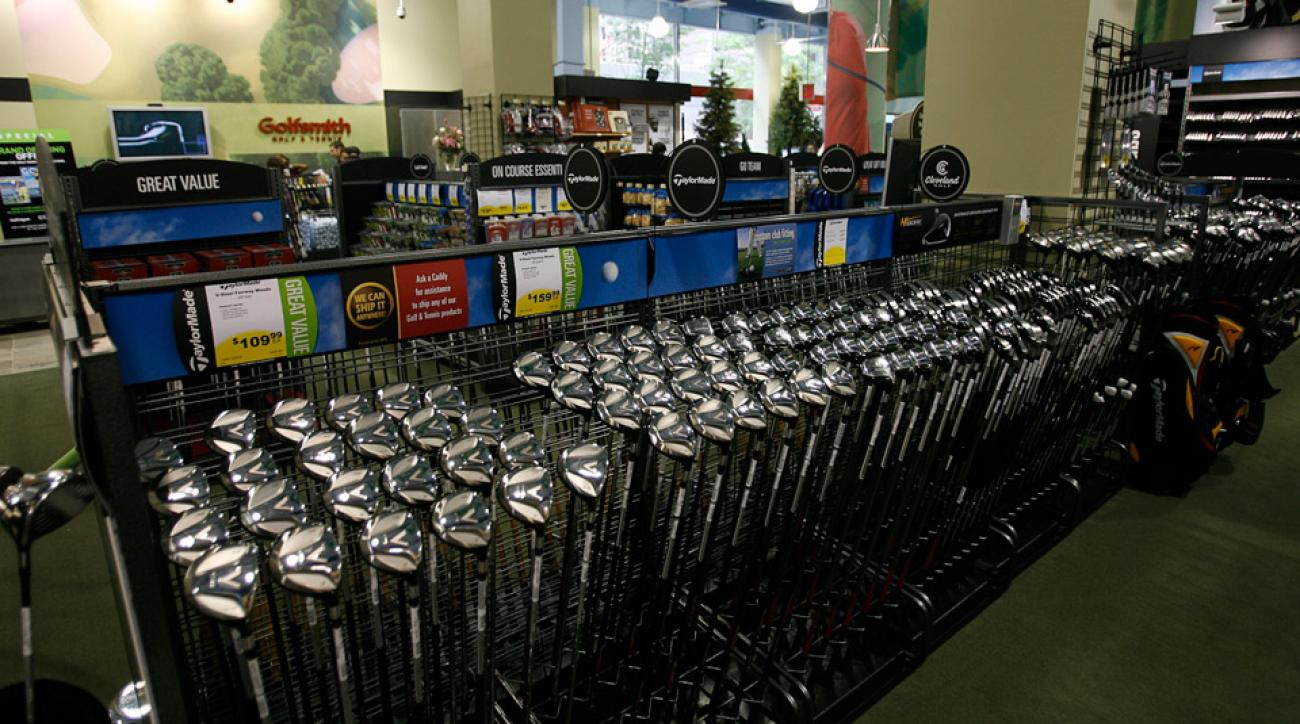 Golfsmith's first store in Manhattan, pictured here in 2006.