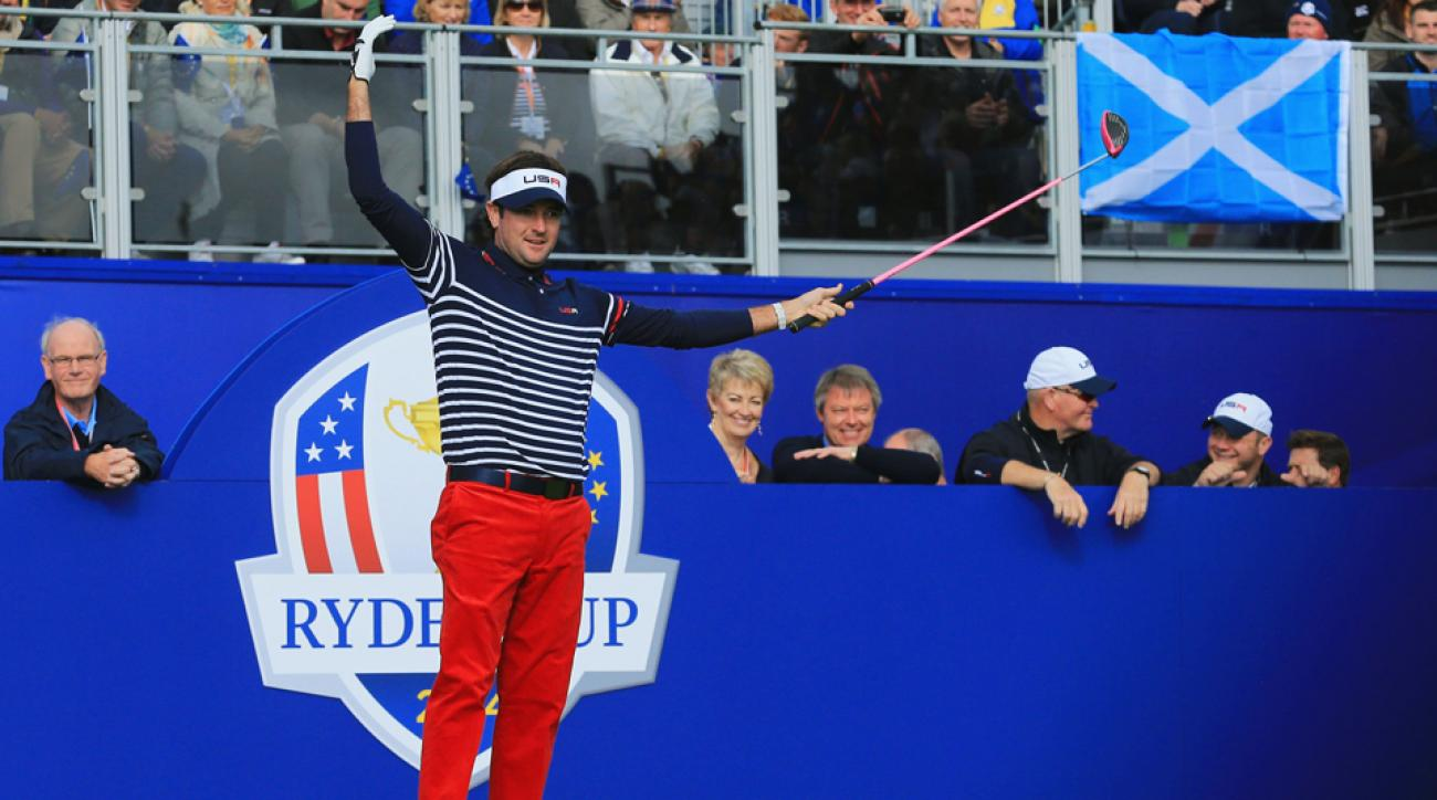 Bubba Watson will get to be a part of the U.S. team at the 2016 Ryder Cup after all.