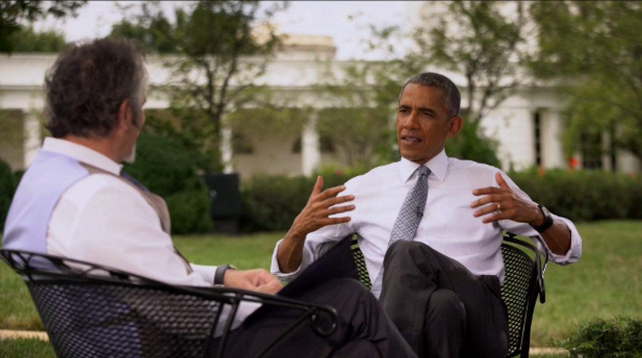 Barack Obama recently sat down with NBC's David Feherty to discuss, among other things, the Olympics and his golf game.