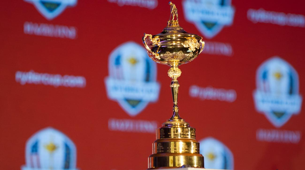The 2016 Ryder Cup trophy will be awarded Sunday, October 2nd at Hazeltine Golf Club in Chaska, Minnesota.