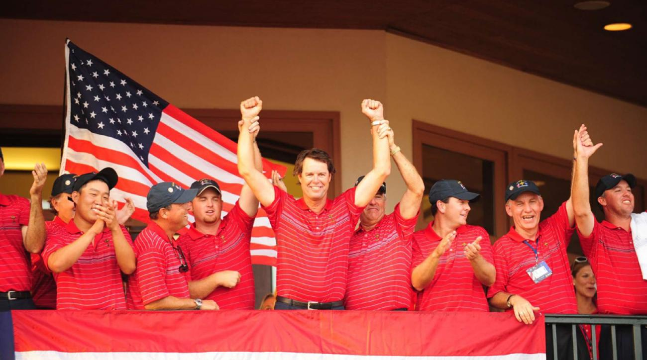 Team USA last won the Ryder Cup in 2008 under captain Paul Azinger.