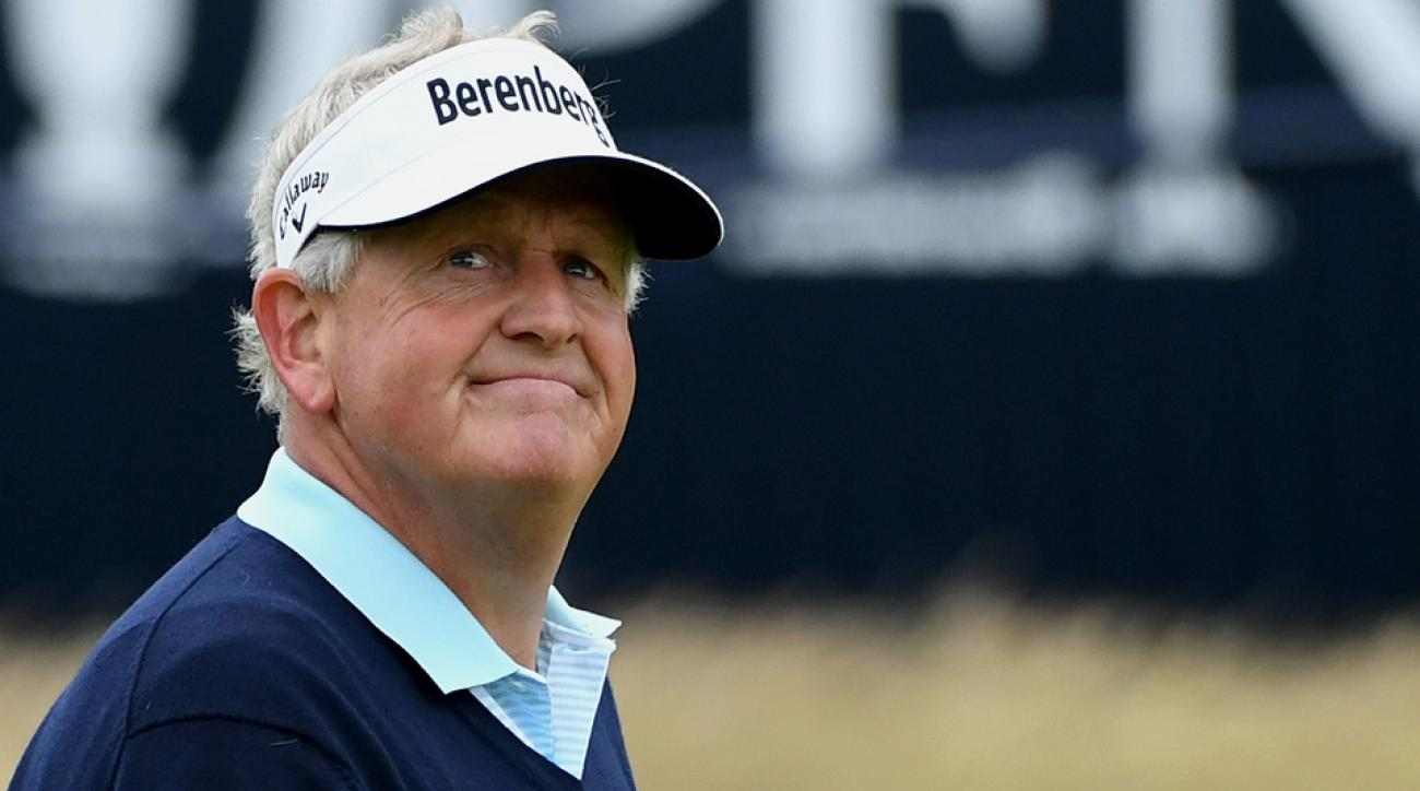 Colin Montgomerie is looking for another U.S. Senior Open title this week.