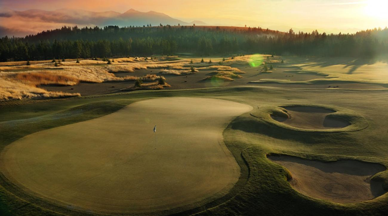 The Wilderness Club, a Brian Curley/Nick Faldo design, sums up the state's frontier-like golf attractions perfectly.