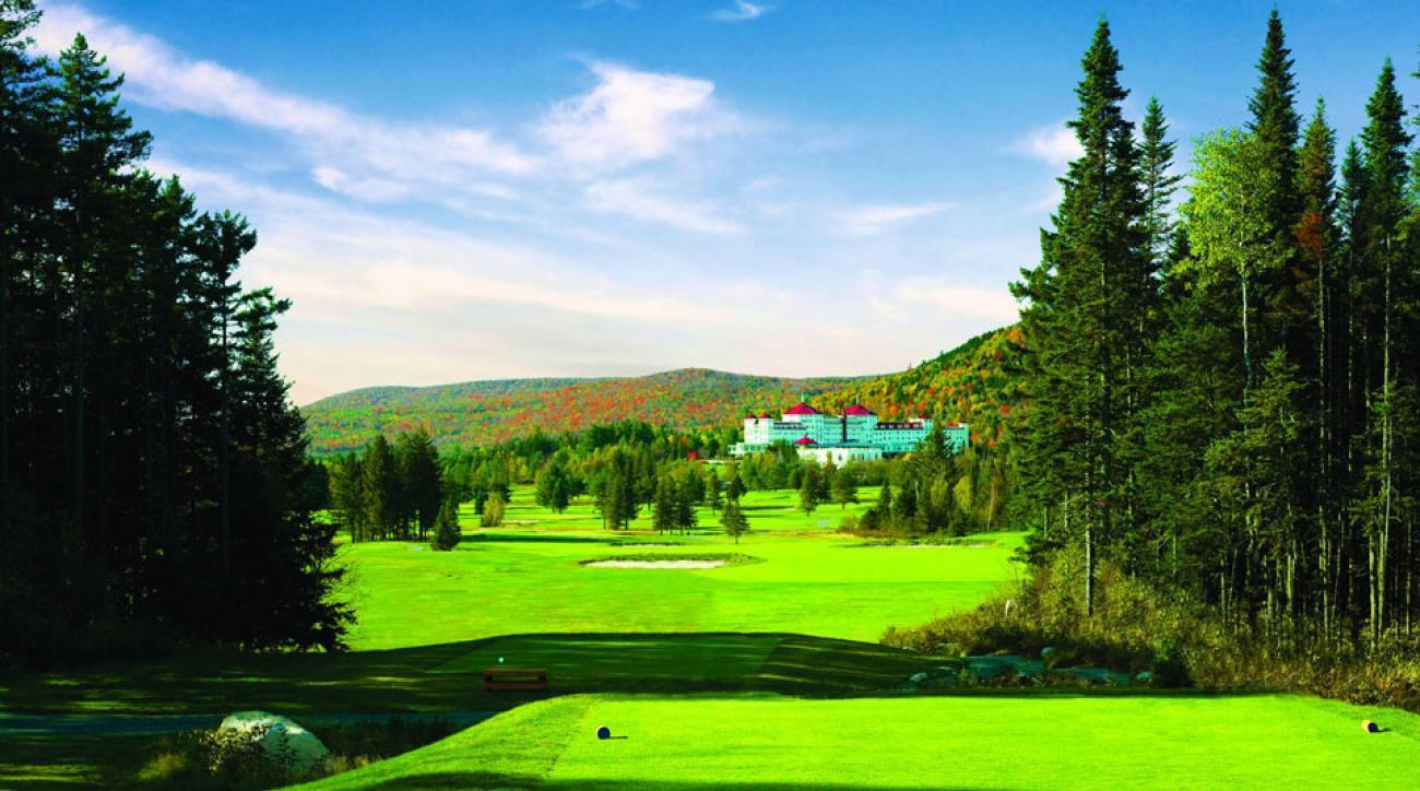 Mount Washington Resort's Donald Ross-designed course features stunning mountain views.