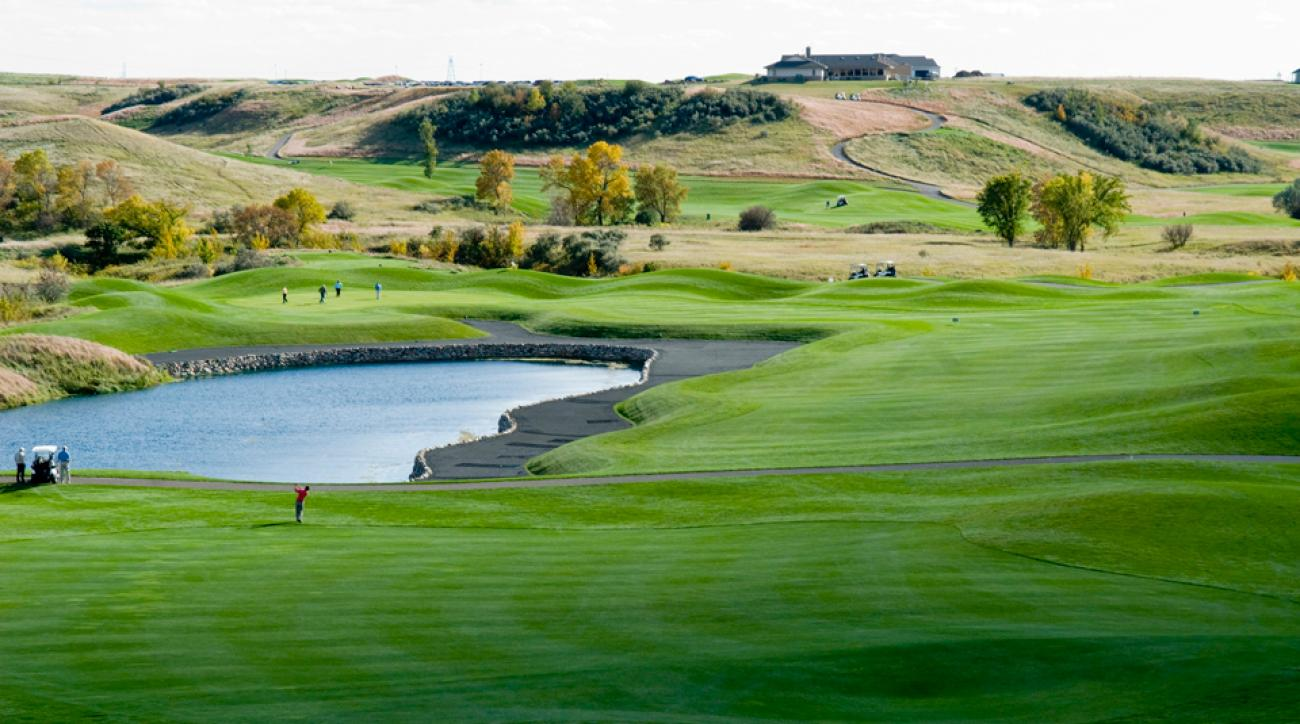 Hawktree Golf Club in Bismark, North Dakota
