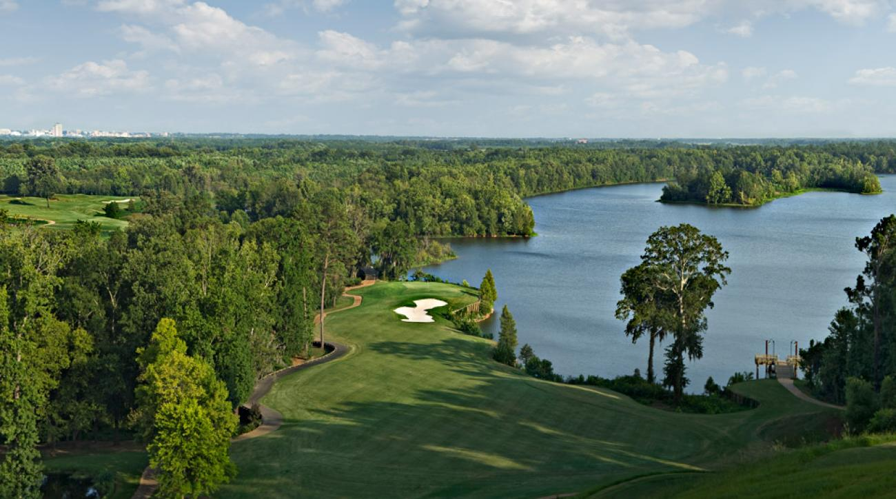 The Judge course at Capitol Hill comes in as the best public venue in Alabama.