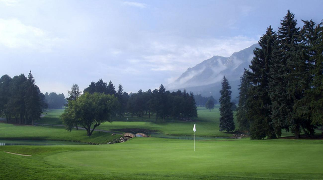 The East course at the Broadmoor is the second-ranked public course in Colorado