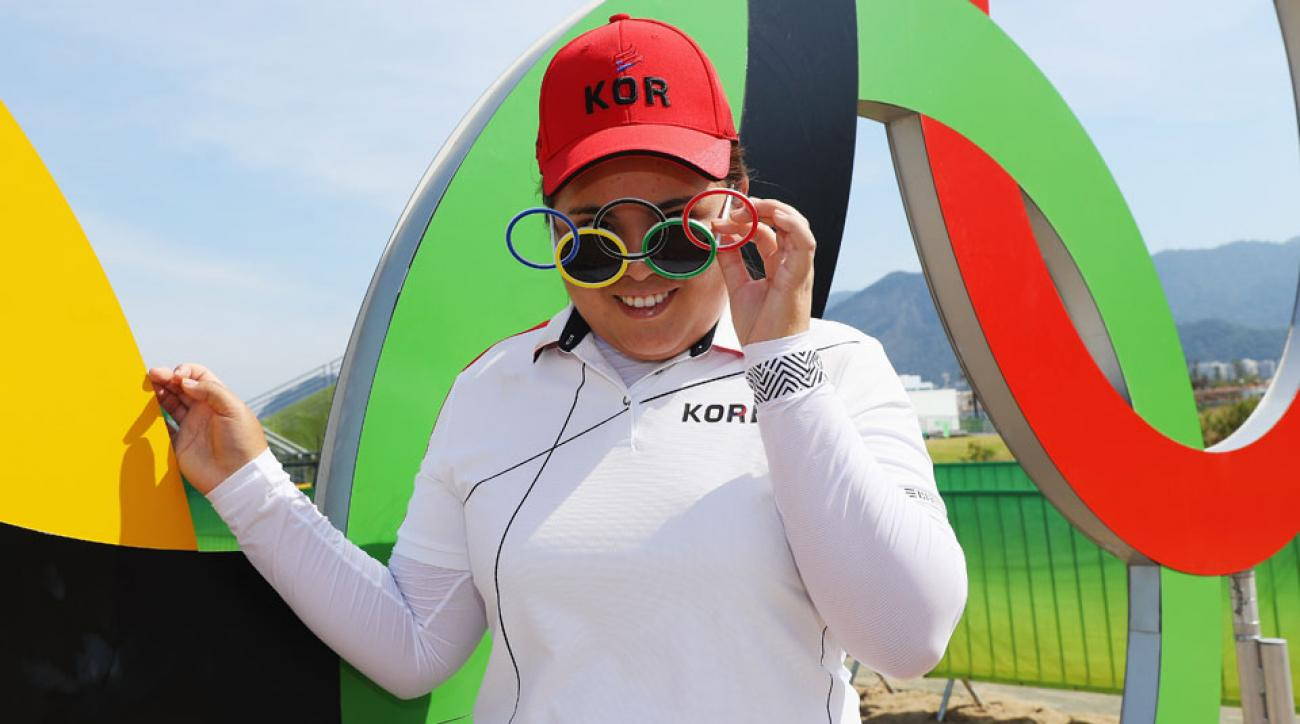 Inbee Park, 28, is the youngest player to qualify for the Hall of Fame.