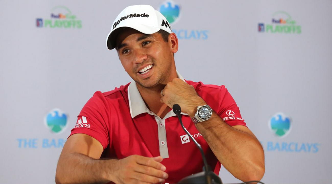 Jason Day found himself introduced as someone else today at the BMW Championship.
