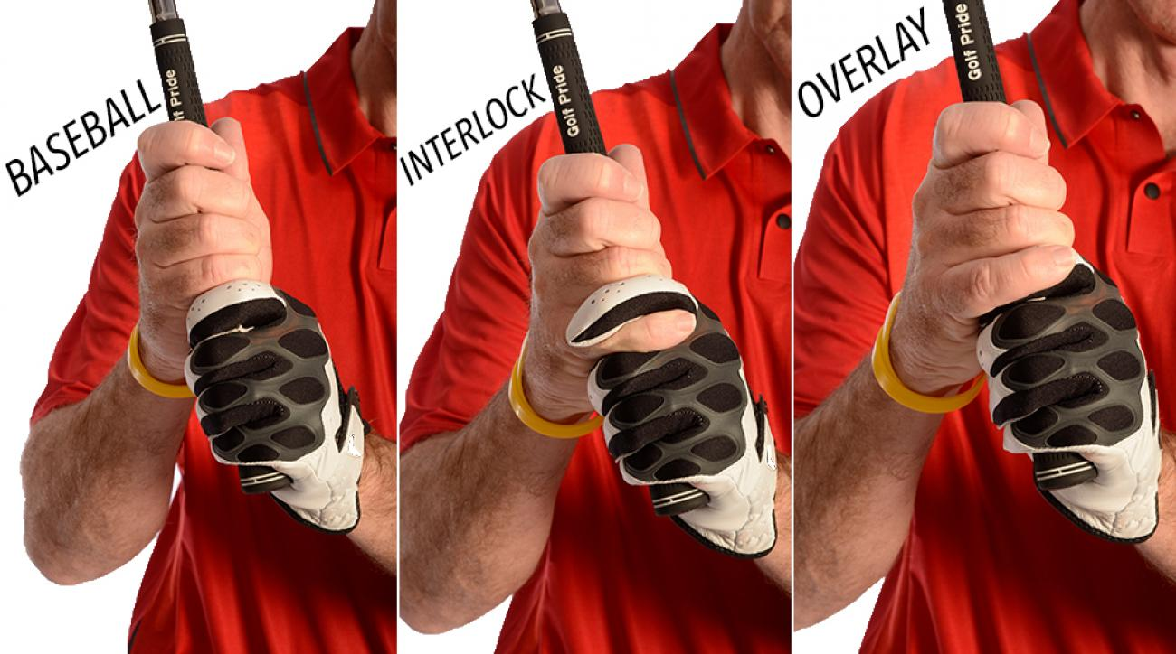 The baseball, interlock and overlap grips can help alleviate various swing struggles.