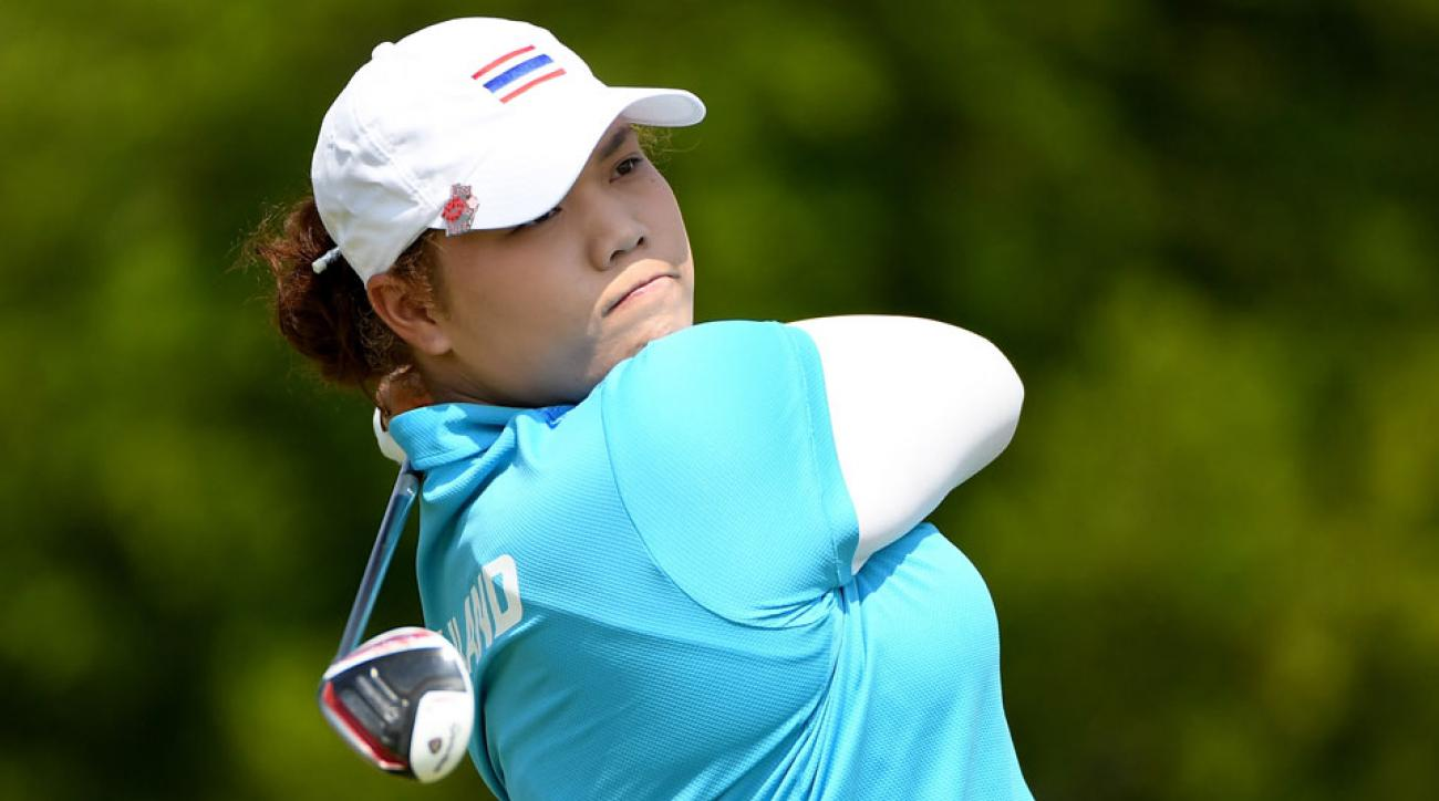 Ariya Jutanugarn is the first golfer from Thailand to win a major championship.