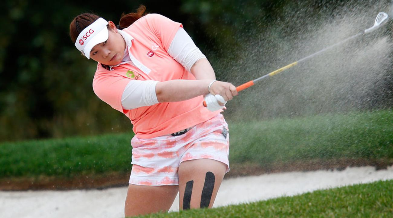 Ariya Jutanugarn isn't slowing down on the LPGA Tour.