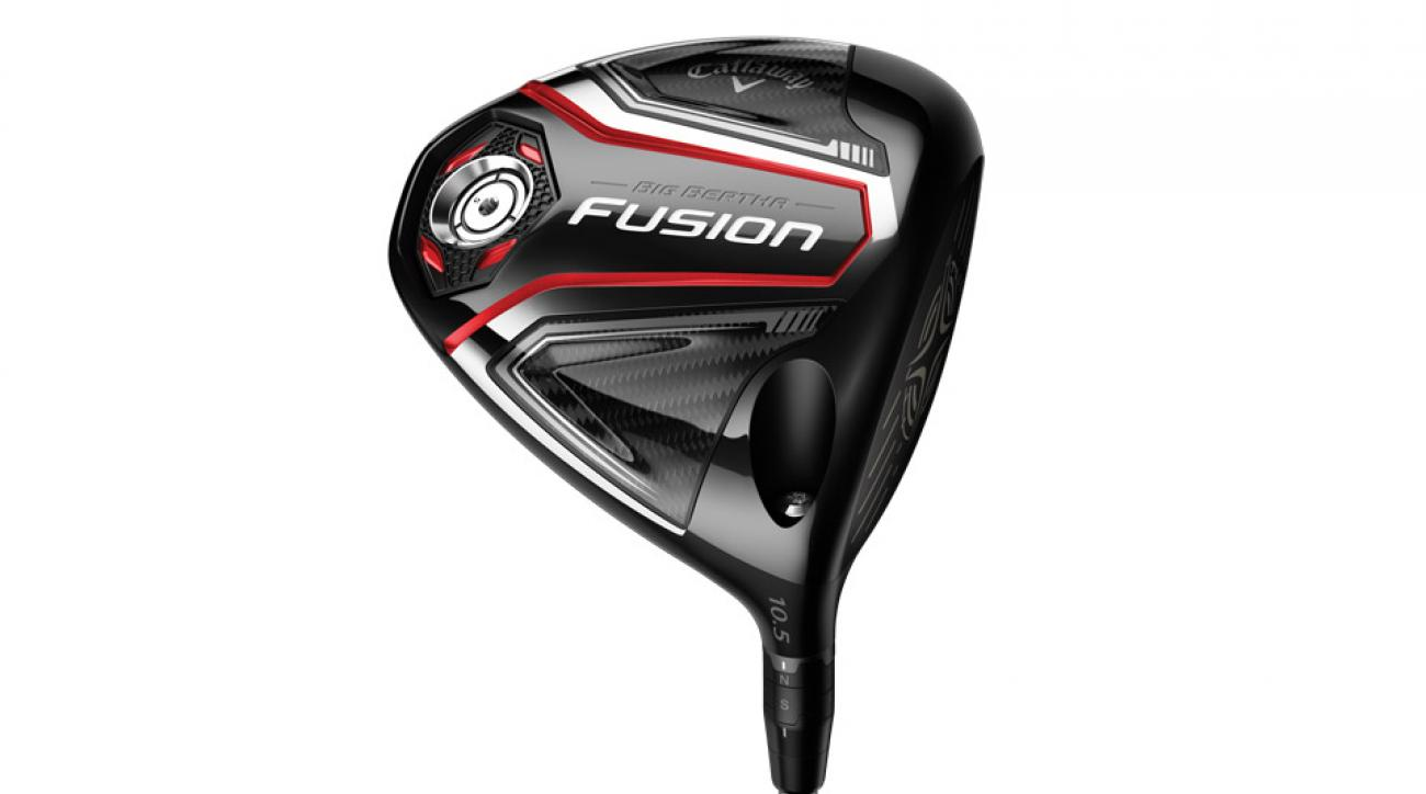 Callaway new forgiving Big Bertha Fusion driver.