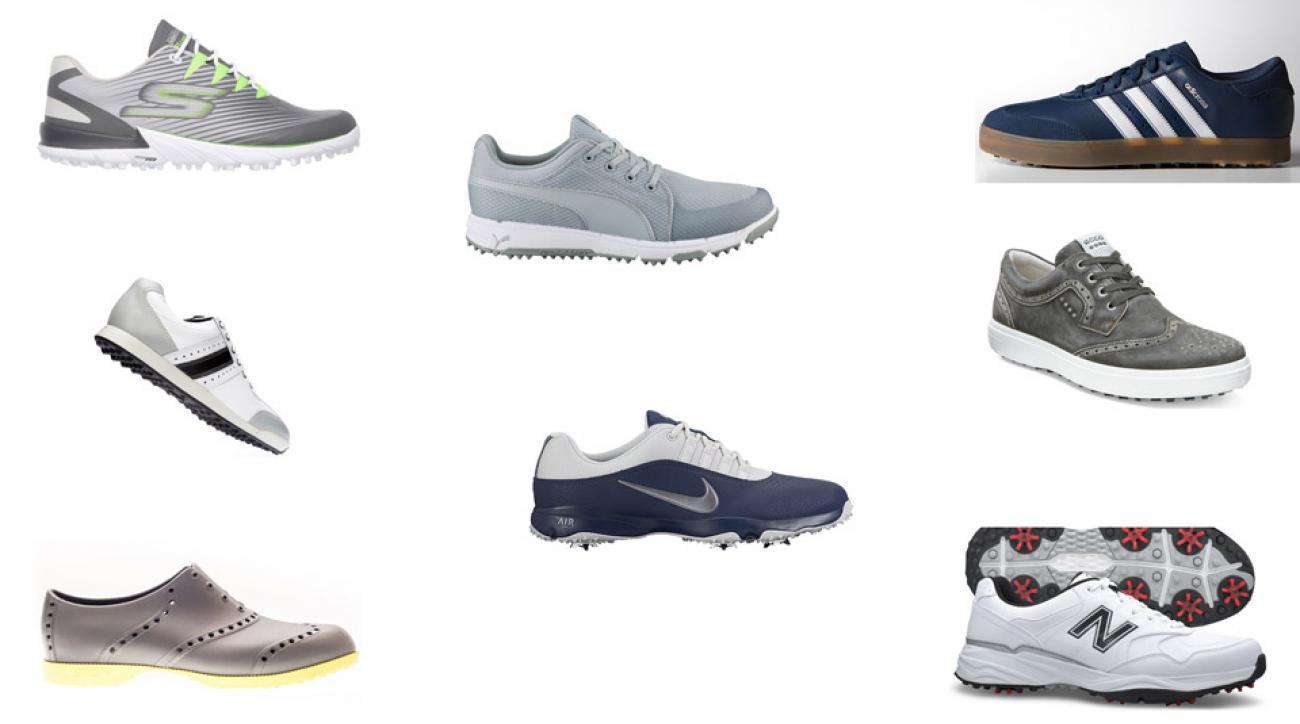 Learn about these 8 new pairs of golf shoes below.