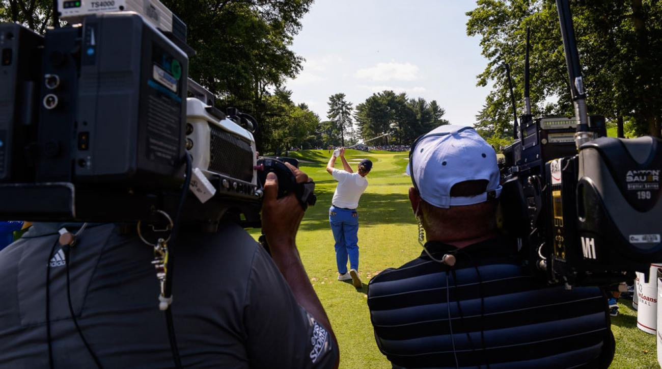 pga tour could leave nbc  cbs early  according to report