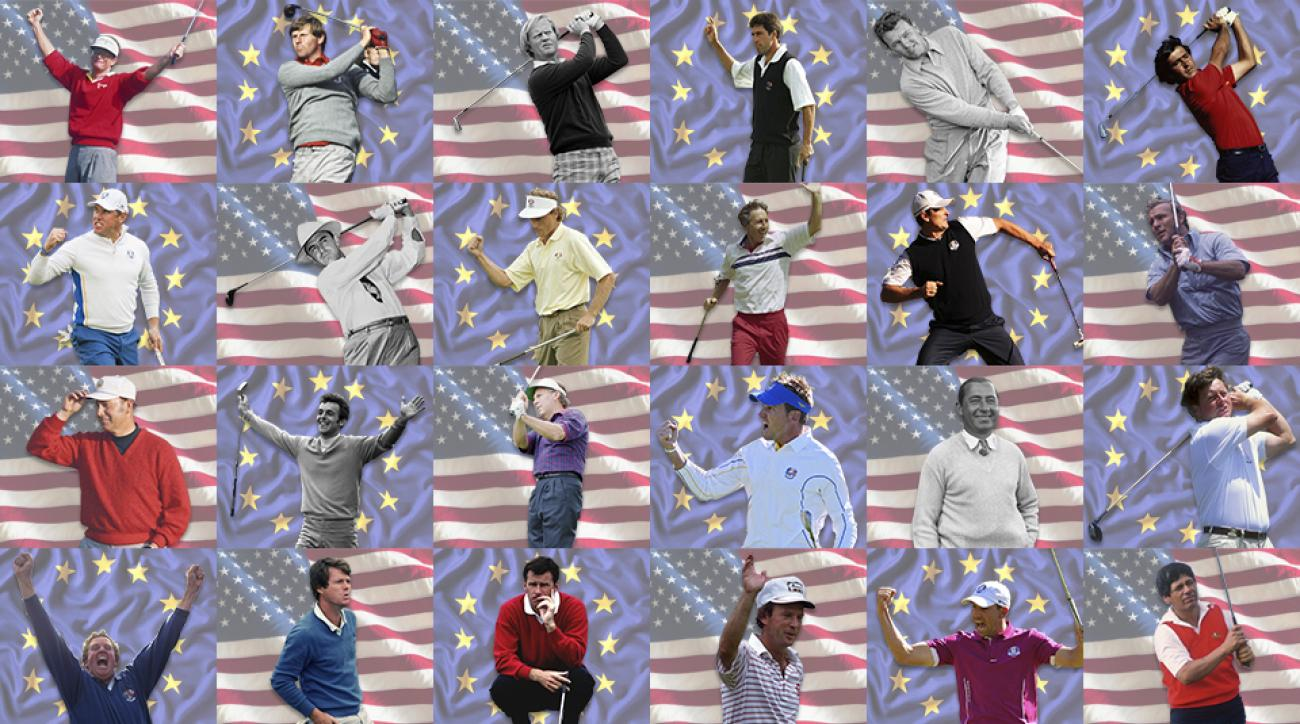 Who are the best Ryder Cup players--ever?