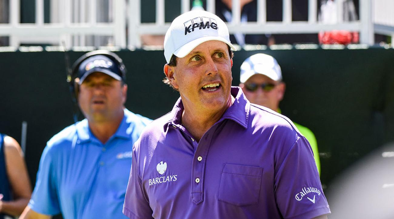Phil Mickelson didn't appreciate the setup of the Tour Championship at East Lake Golf Club.