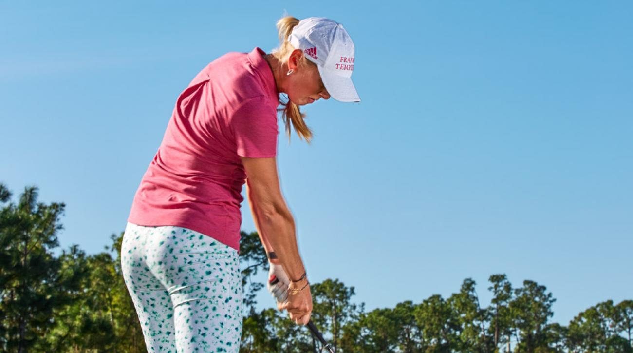 See below for Jessica Korda's tips for hitting hybrids.