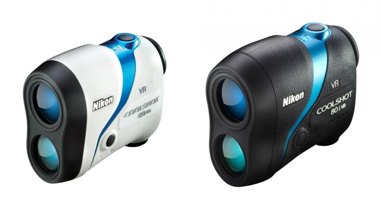 The new Nikon Coolshot 80 VR and 80 i VR rangefinders.