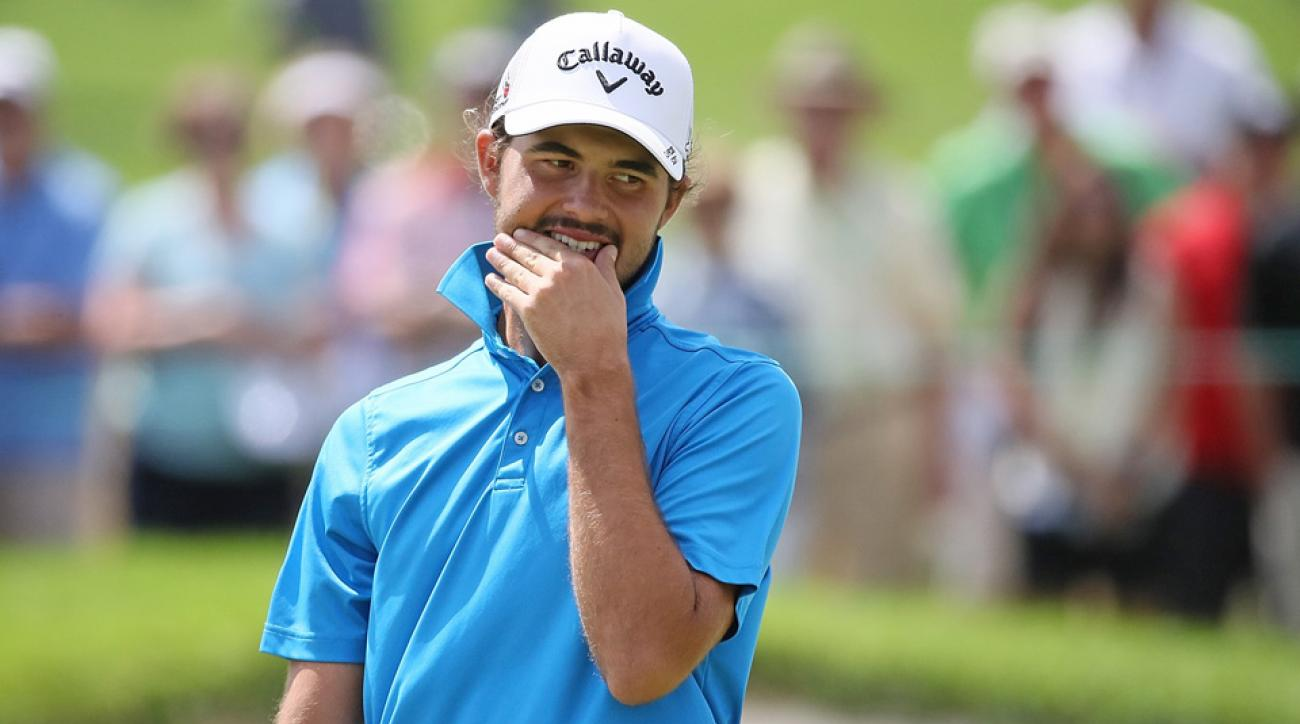 U.S. Amateur champion Curtis Luck overcame a seven-stroke deficit to win the Asia-Pacific Amateur on Sunday.