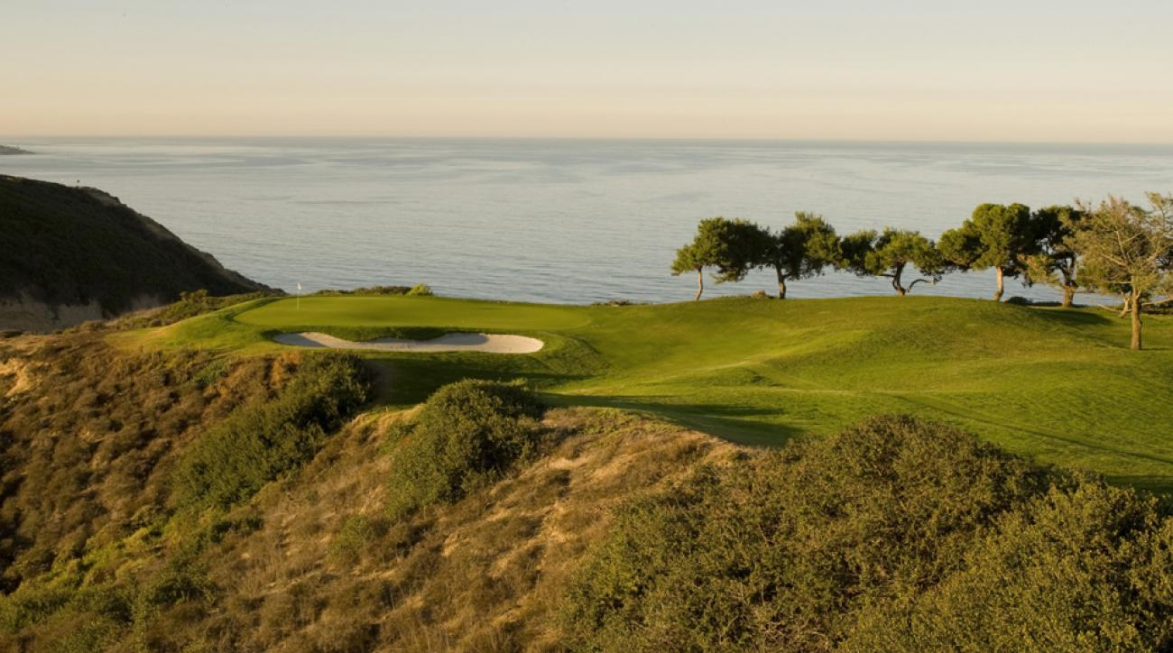 The 3rd hole of the South Course at Torrey Pines.