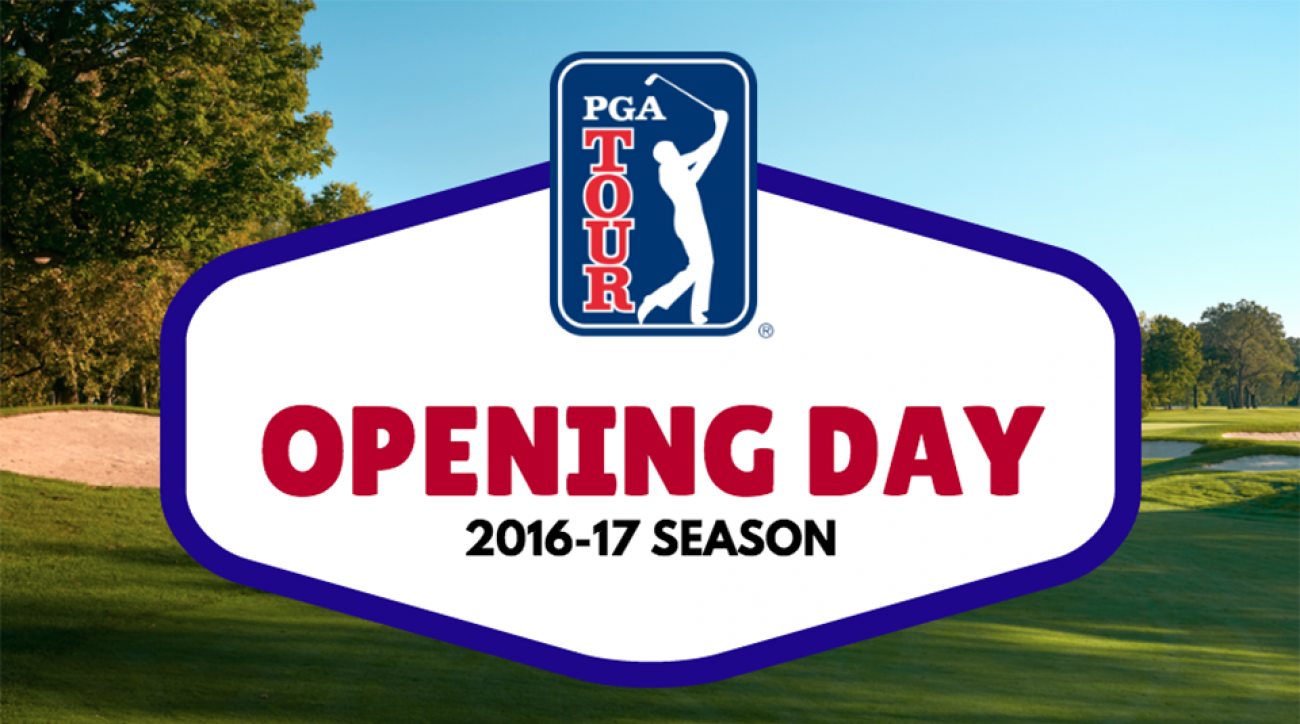 The opening day of the 2016-17 PGA Tour season was filled with on-course fireworks.