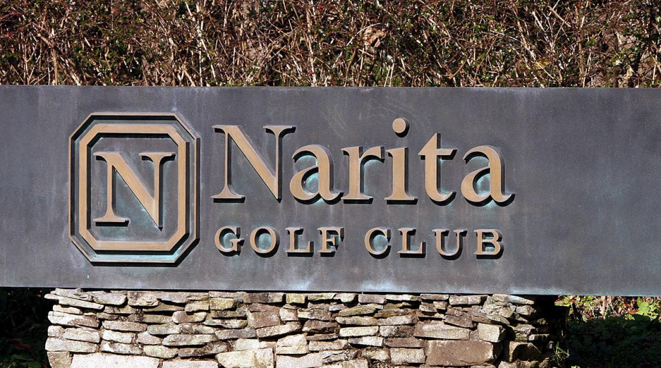 Narita Golf Club, where the new PGA Tour Champions tournament will be held starting in the fall of 2017.
