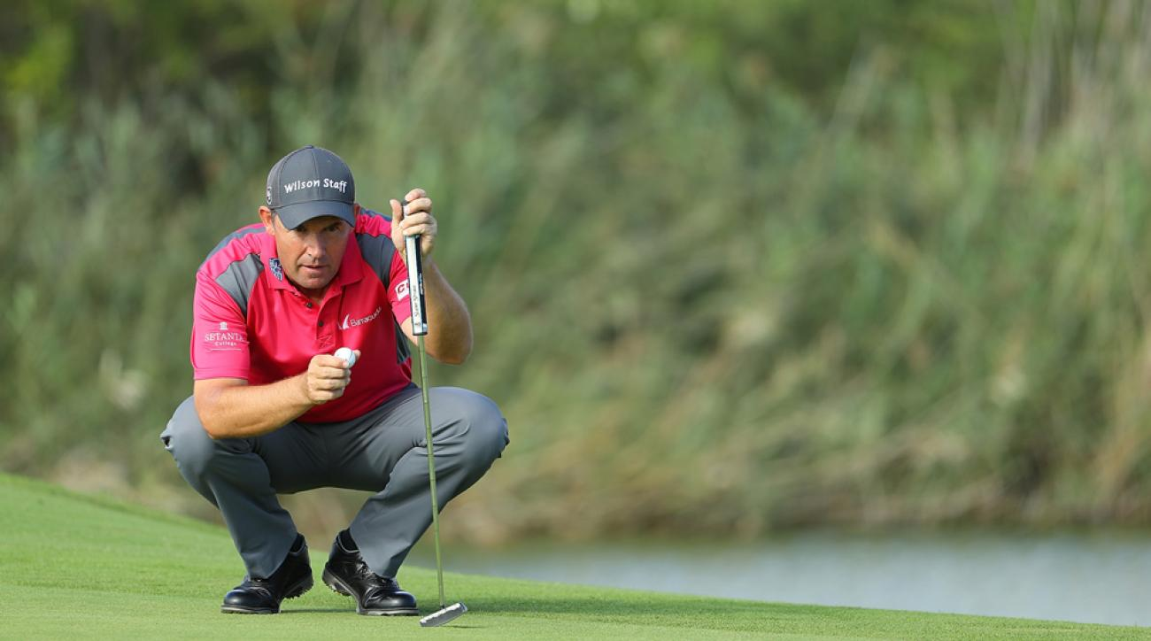 The three-time major winner is just one stroke back at the Portugal Masters.
