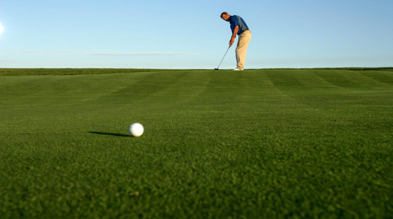 From 30 feet, Tour pros two-putt 88 percent of the time.