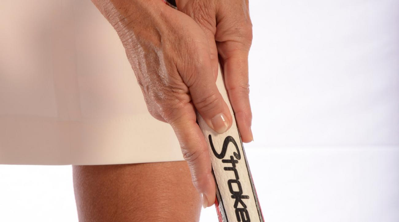 Give a short stroke the finger with this easy grip.