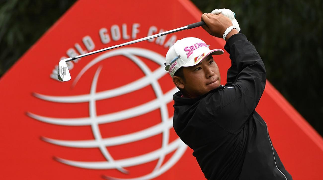 Hideki Matsuyama had four birdies and no bogeys in the third round of WGC-HSBC Champions.
