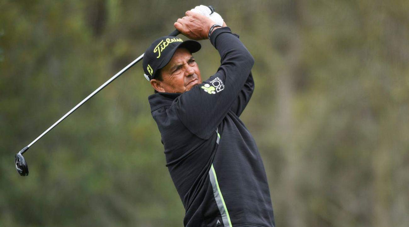 Tom Pernice, Jr. won twice on the PGA Tour, most recently in 2001.