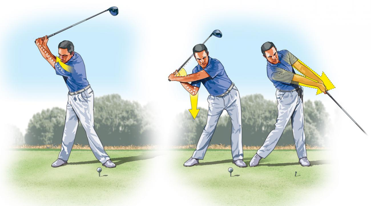 Proper lag in your swing can help create more pop for longer drives.