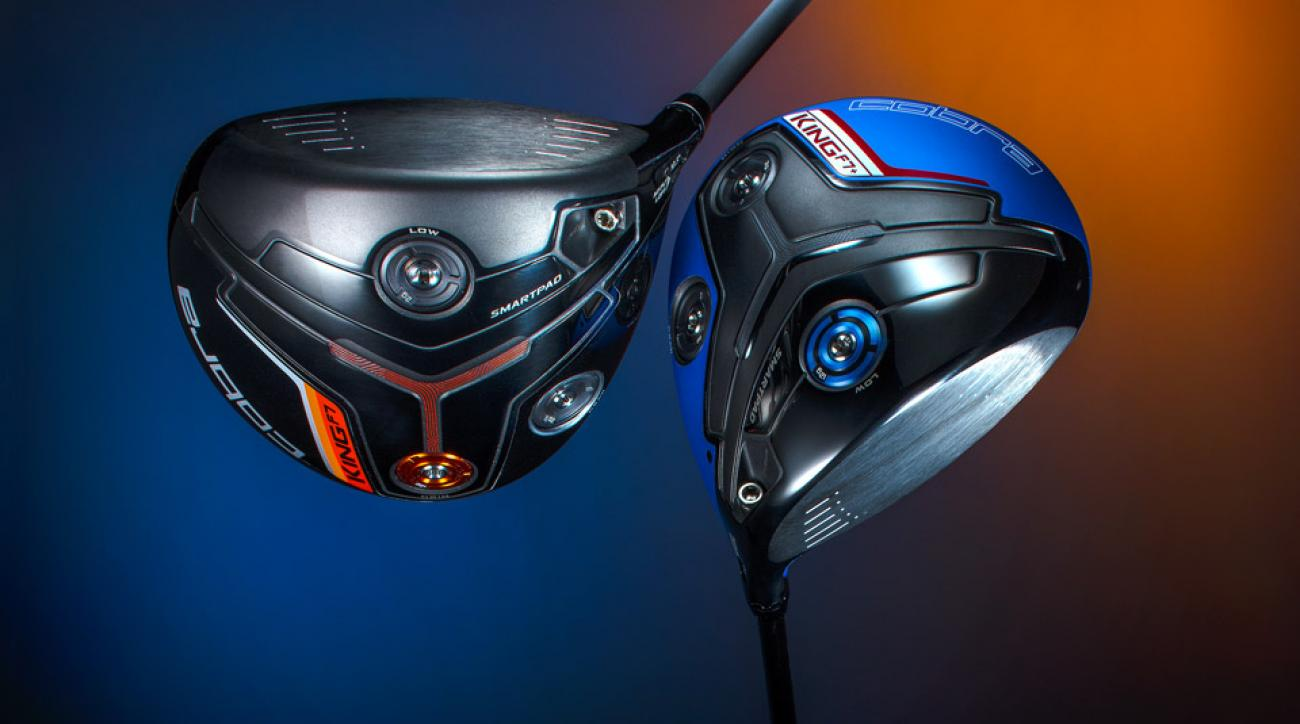 The new Cobra King F7 and King F7+ drivers.