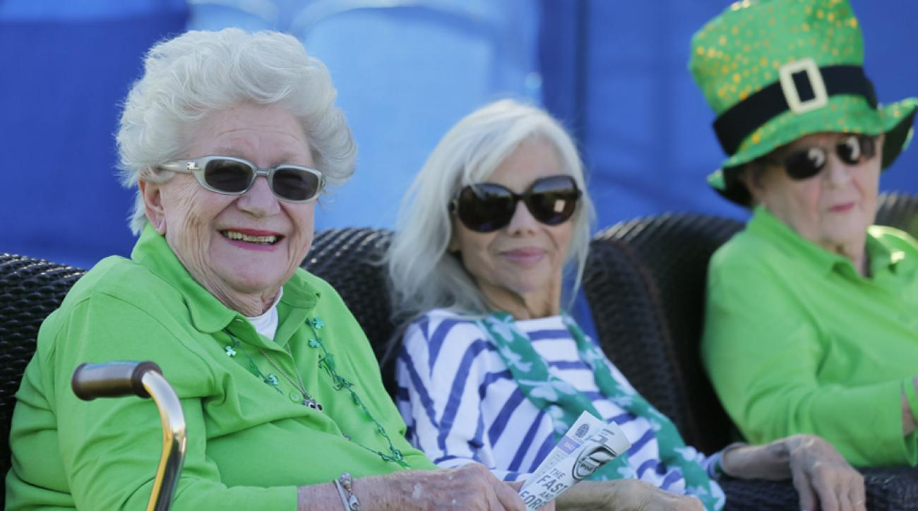 Marilynn Smith, Marlene Bauer Hagge and Shirley Spork at the 2016 LPGA Founders Cup.