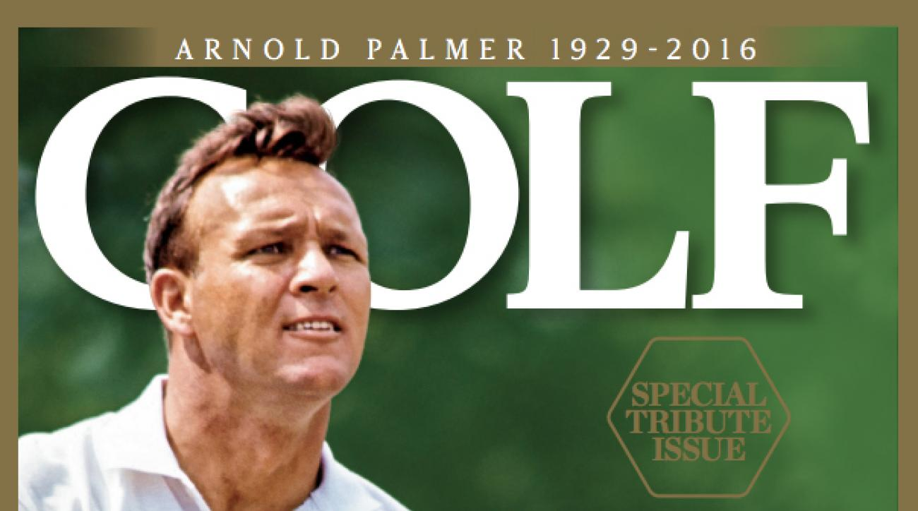 Arnold Palmer, December 2016 Issue of GOLF