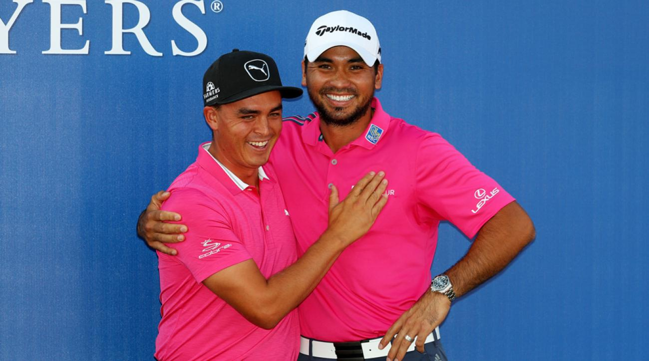 Rickie Fowler and Jason Day will play as a team in the 2017 Zurich Classic.
